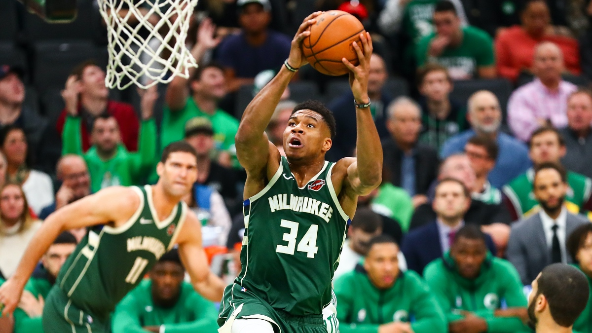 FanDuel Sportsbook Best Promo Code & Bonuses (Monday, Feb. 24): Odds Boosts for Giannis vs. Wizards & Kansas-Oklahoma St. article feature image
