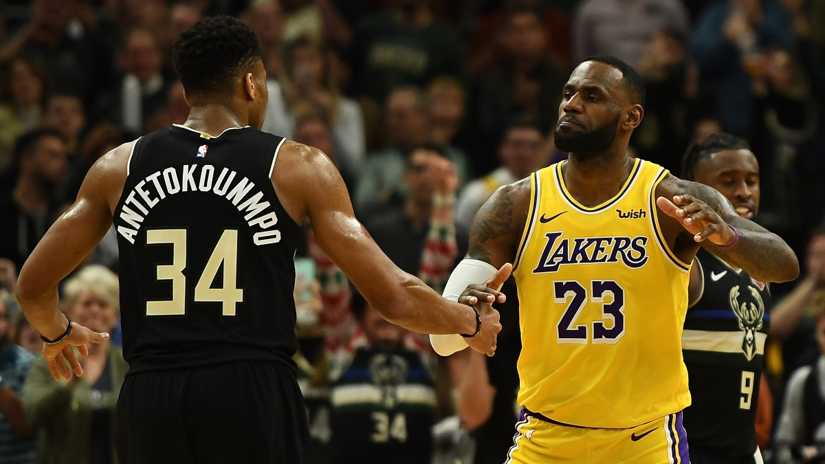 2020 NBA All-Star Game Betting Odds, Spread: Team LeBron Currently Favored Over Team Giannis article feature image