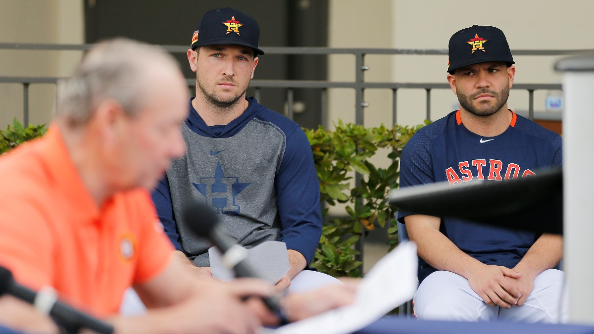 Rovell: How Sportsbooks and Bettors Are Trying To Take Advantage of Astros Cheating Scandal article feature image
