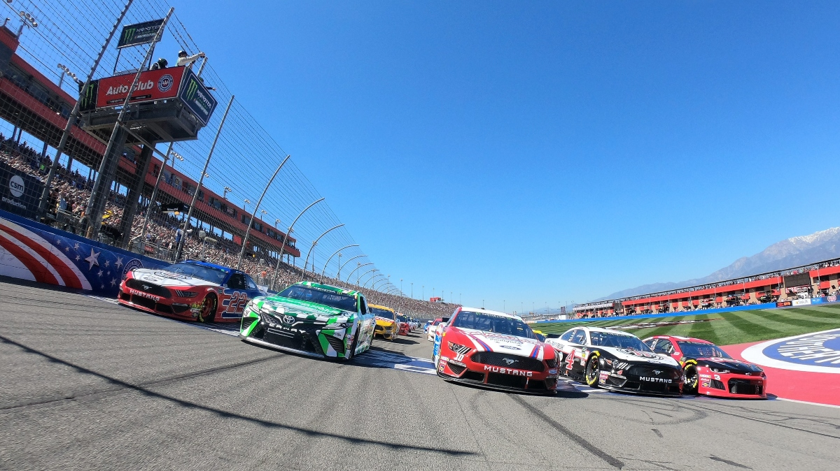 NASCAR Auto Club 400 Odds, Picks and Predictions: 3 Futures for Sunday's Race at Fontana article feature image