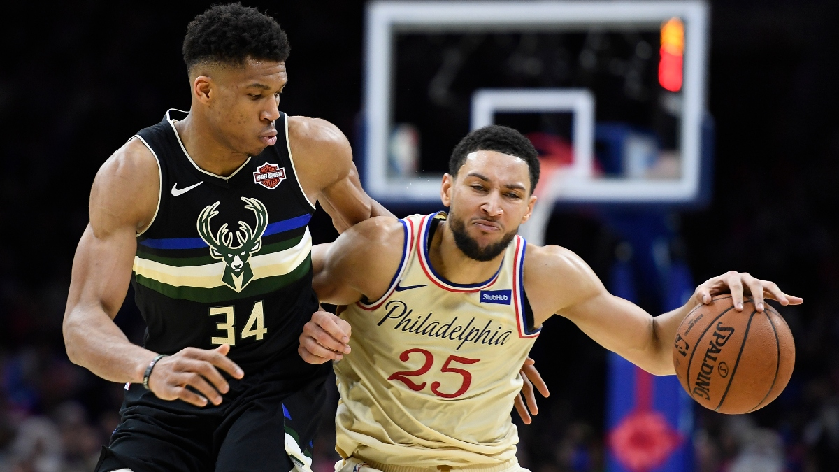 76ers vs. Bucks Sharp Betting Pick (Feb. 6): Pro Action Hitting Point Spread article feature image
