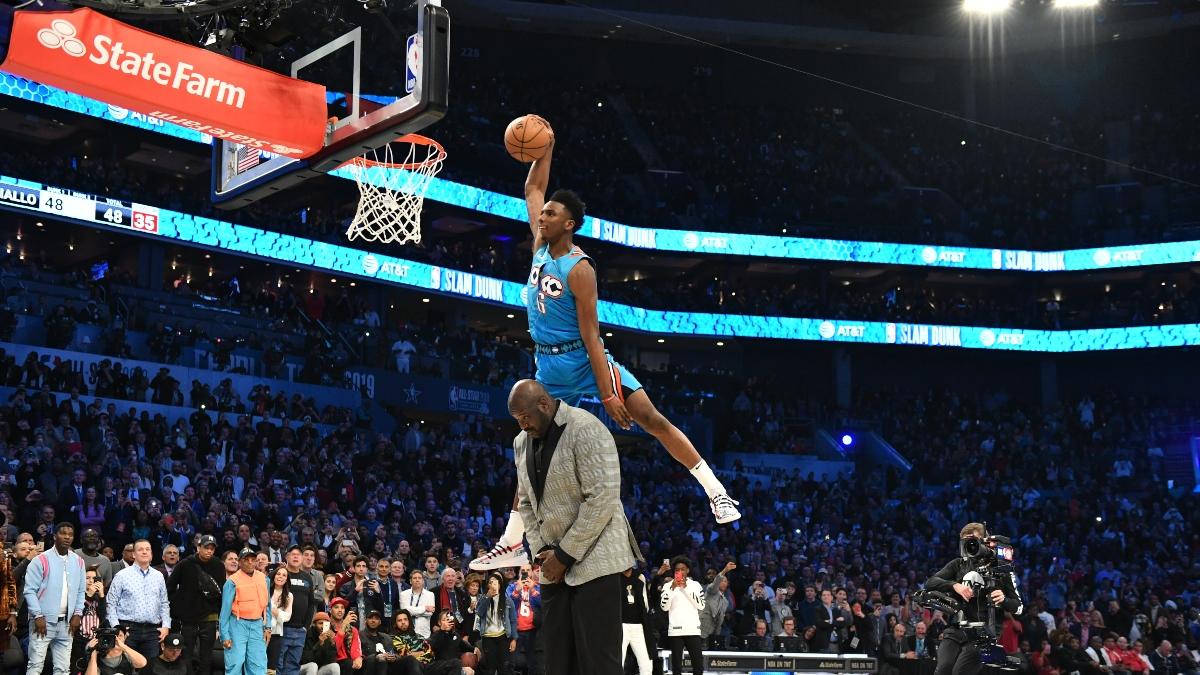 Rovell: This Is the Reason Why Most Sportsbooks Can't Offer Odds on the 2020 NBA Slam Dunk Contest article feature image