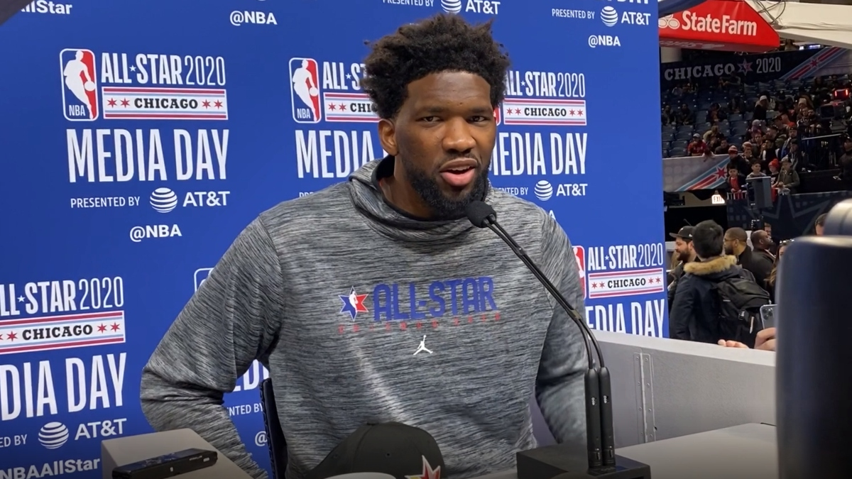 NBA Stars Sound Off: Embiid's Favorite Things About Haters, More From All-Star Weekend article feature image