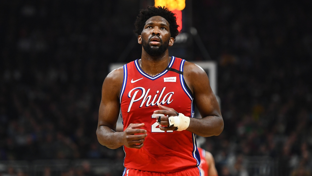 DraftKings Sportsbook Best Promo Code & Bonus (Monday, Feb. 24): Joel Embiid Prop Odds Booster article feature image