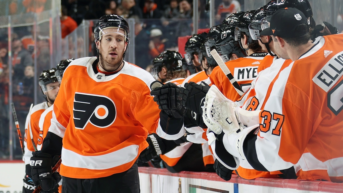 NHL Betting Odds & Betting Picks (Friday, Feb. 28): Rangers vs. Flyers, Sabres vs. Golden Knights, More article feature image