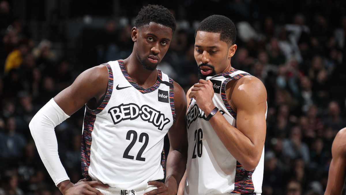 Nets vs. 76ers Betting Picks, Betting Odds & Predictions: Can Brooklyn Keep Up Without the Injured Kyrie Irving? article feature image
