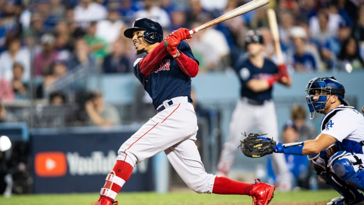 How the Mookie Betts Blockbuster Trade Impacts Dodgers, Red Sox World Series Odds article feature image