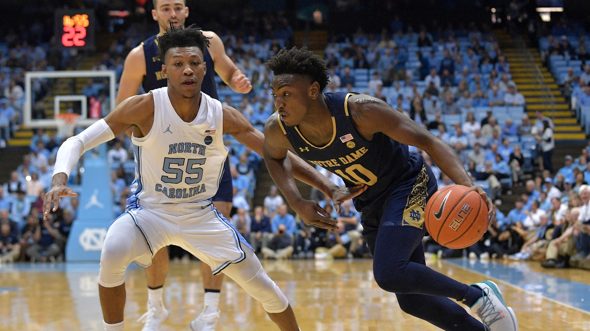 North Carolina vs. Notre Dame Pick (Feb. 17): How Professional Bettors Are Moving the Line & Over/Under article feature image
