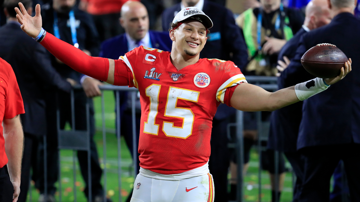 2020 NFL MVP Odds: Patrick Mahomes the Opening Favorite article feature image