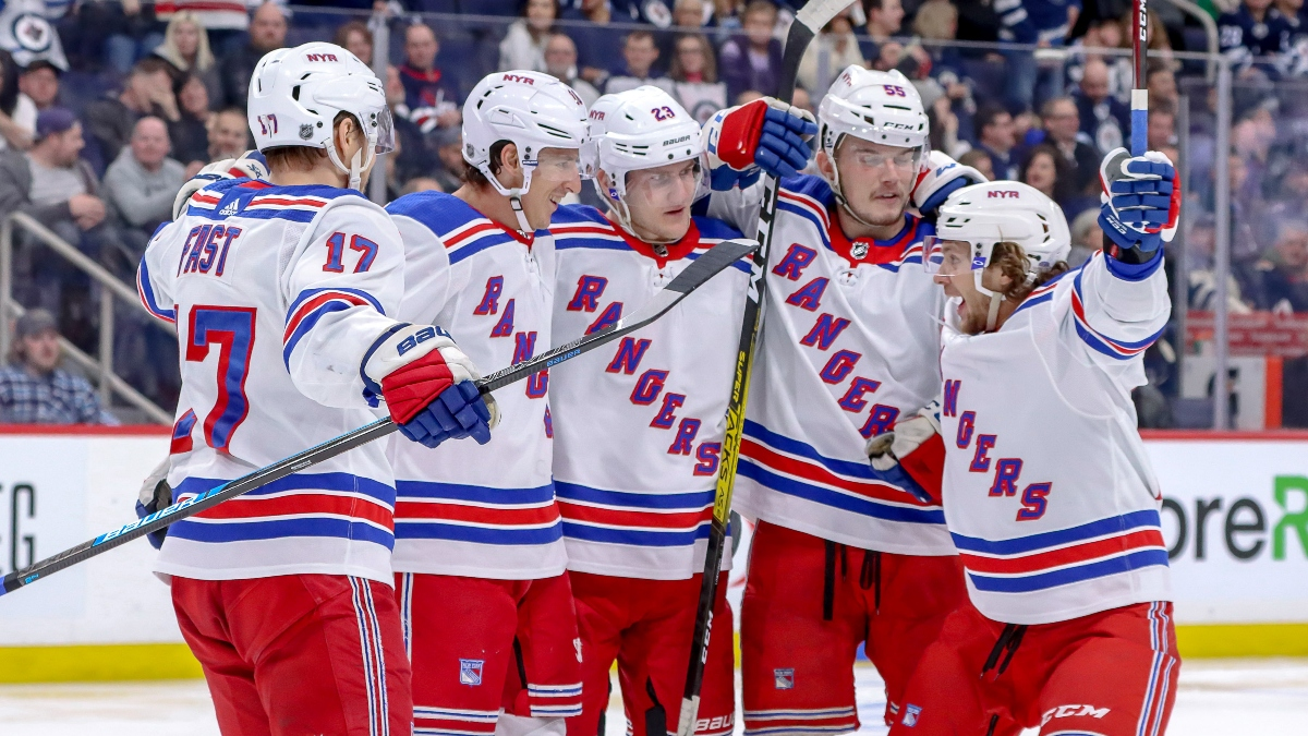 NHL Betting Odds and Picks: How To Bet Rangers vs. Blue Jackets, Devils vs. Hurricanes (Friday, Feb. 14) article feature image