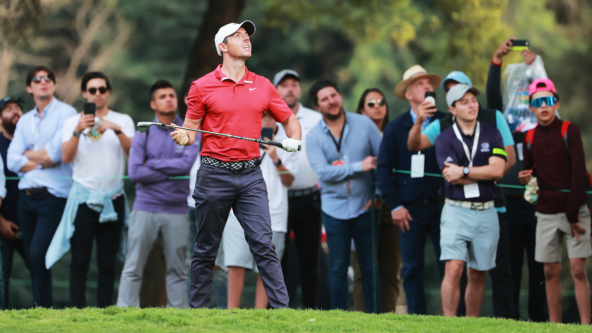 WGC-Mexico Championship Round 3 Odds & Picks: McIlroy's Price Still Not High Enough to Back Him This Weekend article feature image