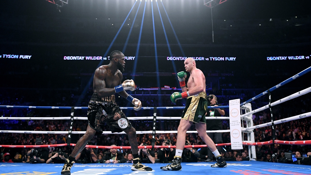 Rovell: $190K Bet Comes In On Tyson Fury to Beat Deontay Wilder article feature image