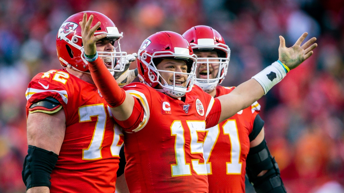 Chiefs vs. Ravens Odds & Promotions: Bet $5, Win $101 if Chiefs Cover +50 vs. Ravens article feature image