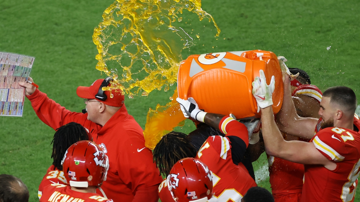 Super Bowl Prop Bet Results: Gatorade Color, National Anthem Time, Coin Toss, More article feature image
