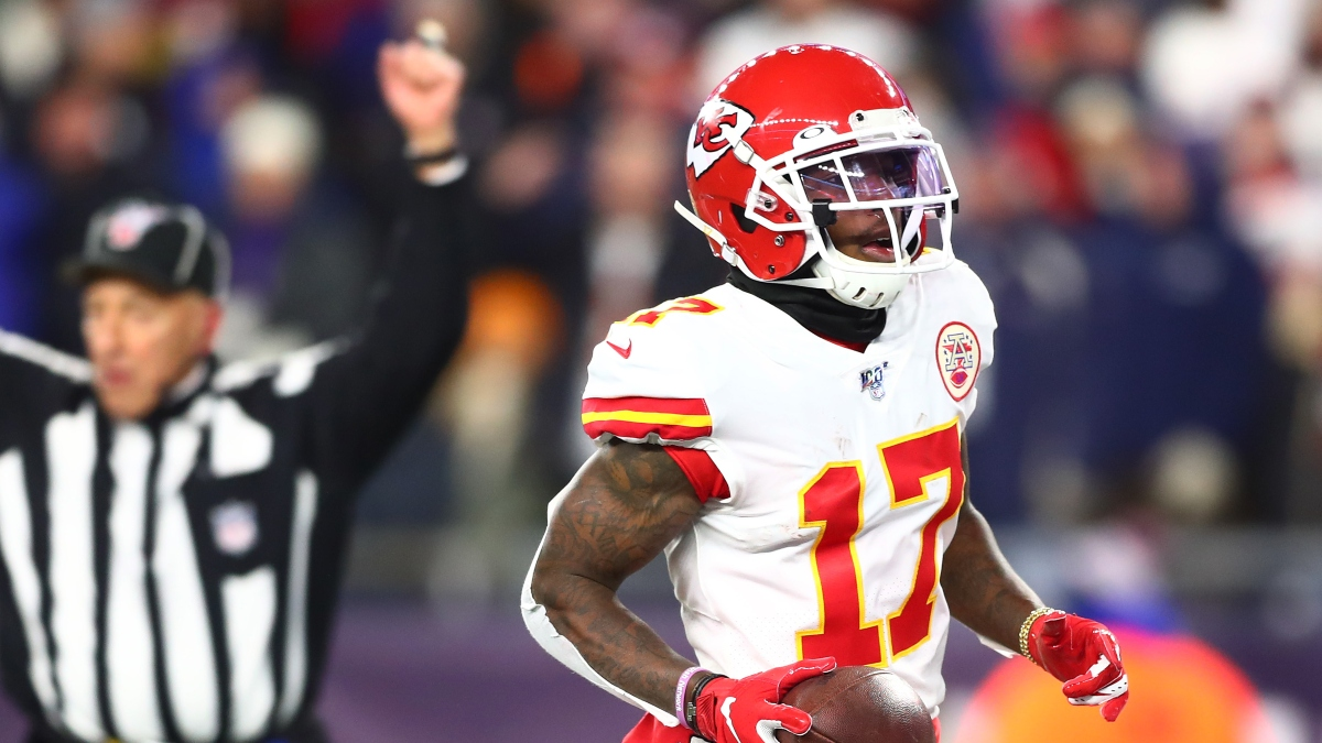 Mecole Hardman Updated Week 17 Fantasy Rankings: Chiefs Receiver Still Risky Replacing Tyreek Hill article feature image