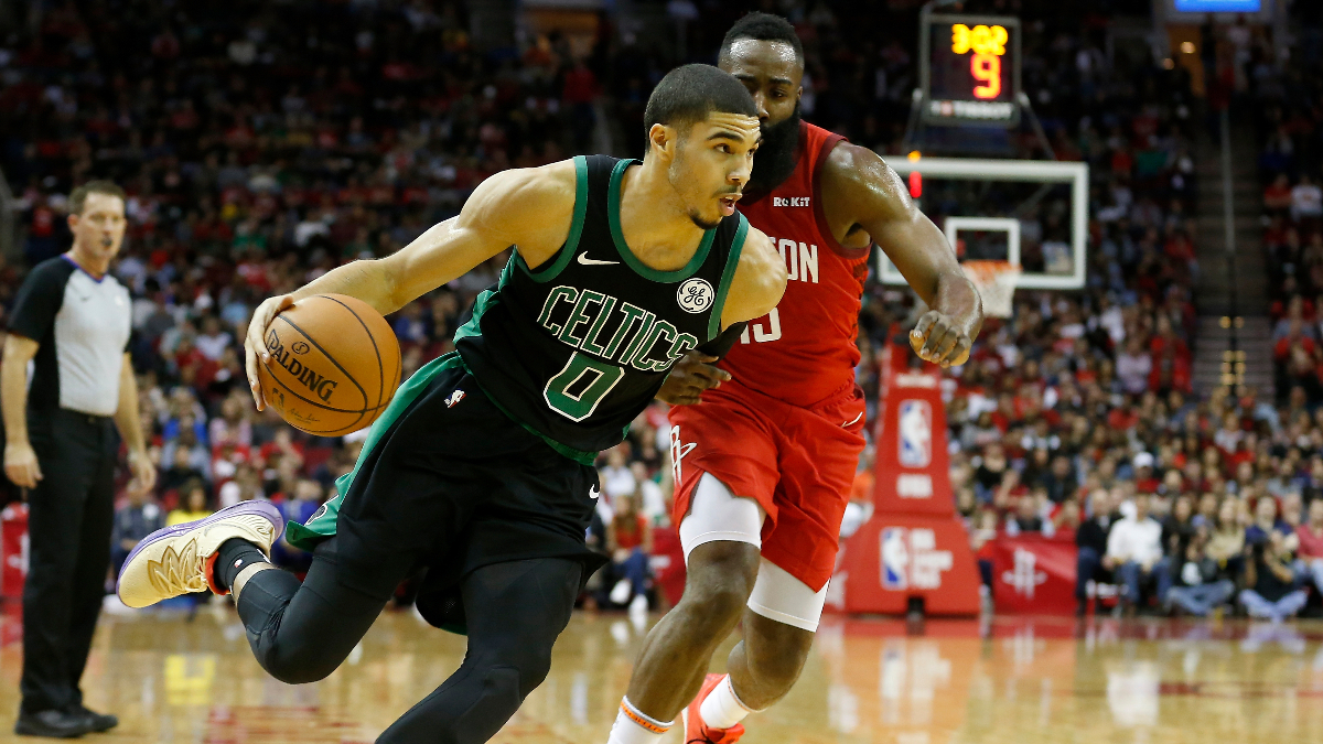 Rockets vs. Celtics Betting Odds Picks & Predictions: Will Houston Shine in Primetime Against Boston? article feature image