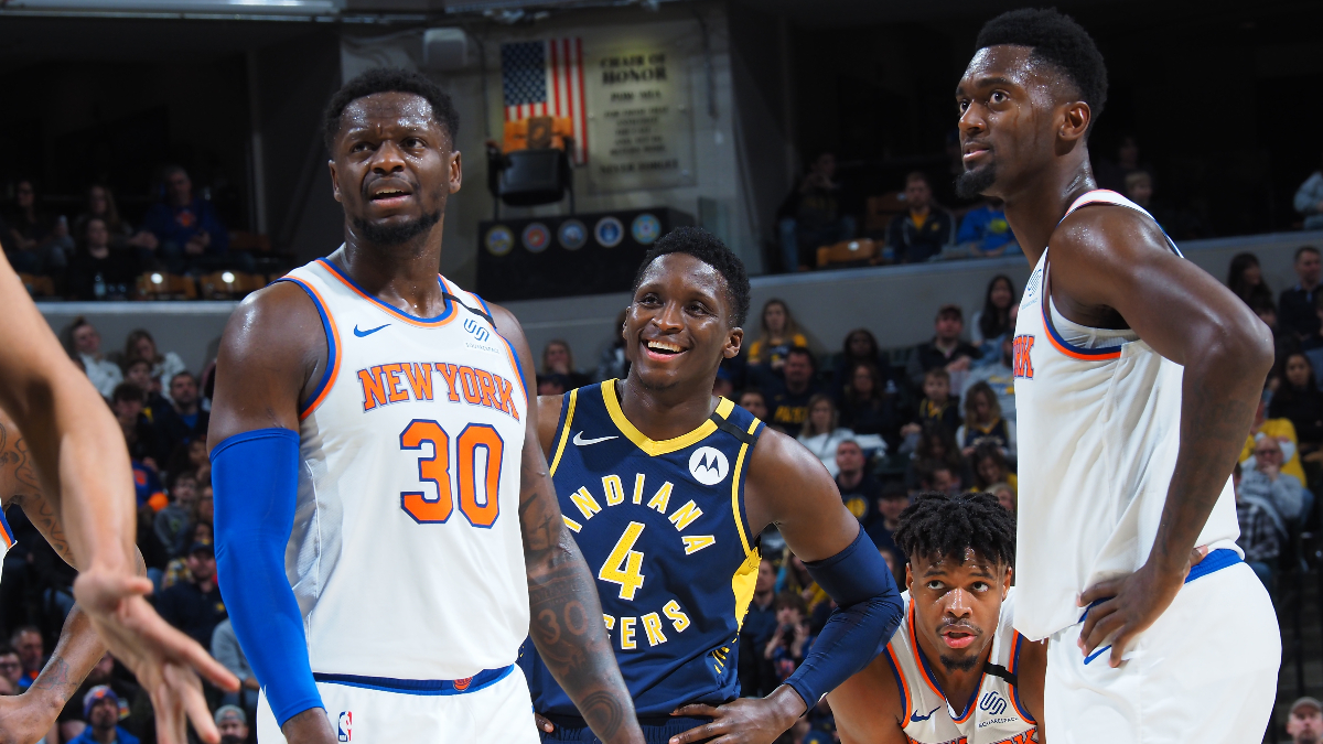 Pacers vs. Knicks Odds, Picks & Betting Predictions: Will Victor Oladipo Shine at Madison Square Garden? article feature image
