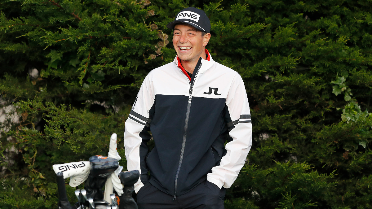 AT&T Pebble Peach Pro-Am Round 3 Odds & Picks: A Superstar to Fade and Why to Back Viktor Hovland article feature image