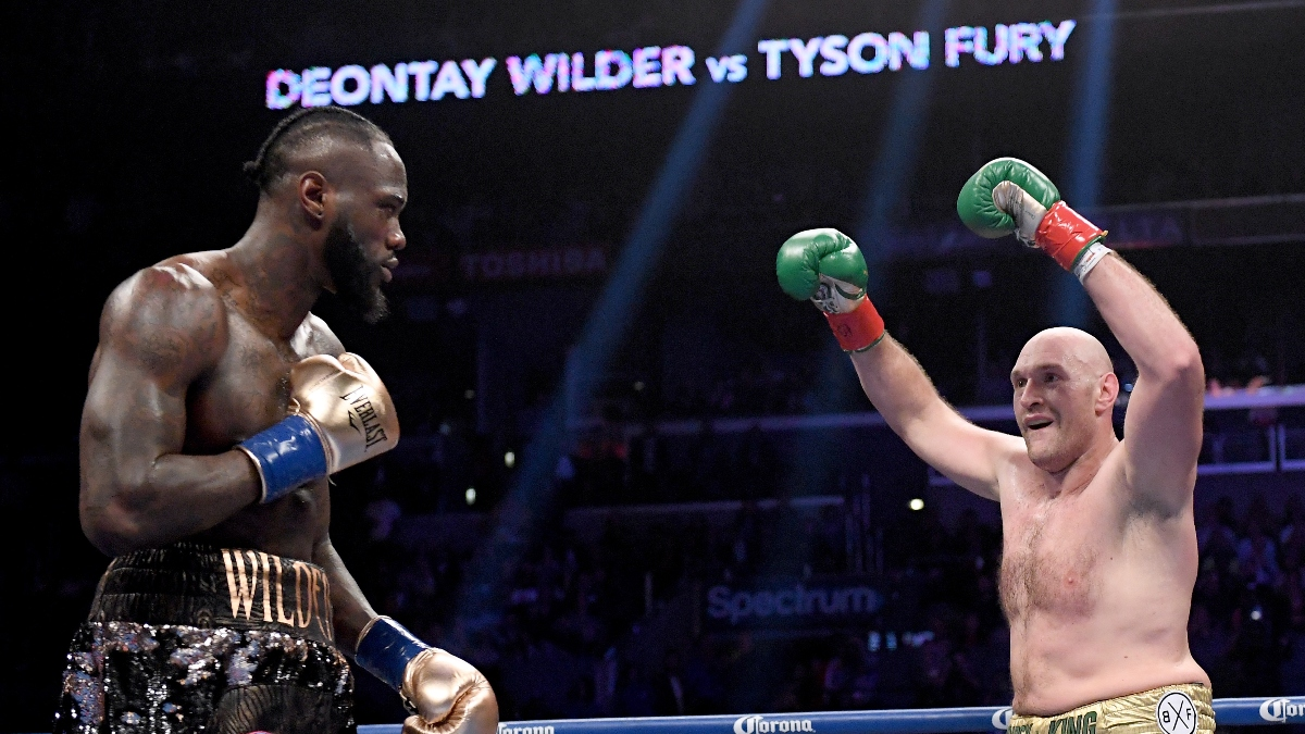 Tyson Fury vs. Deontay Wilder II Odds & Betting Picks: How to Bet Boxing's Most Anticipated Rematch article feature image