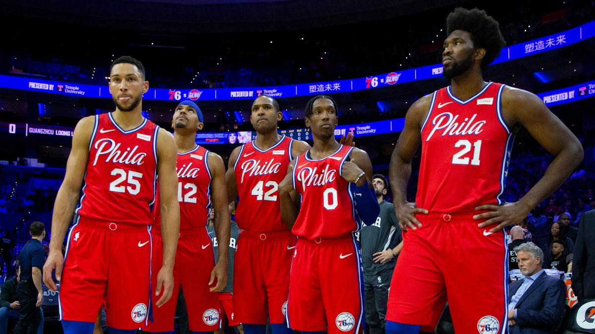 76ers vs. Lakers Betting Odds, Picks & Predictions: Can Philly Compete With Simmons, Embiid & Richardson Injured? article feature image
