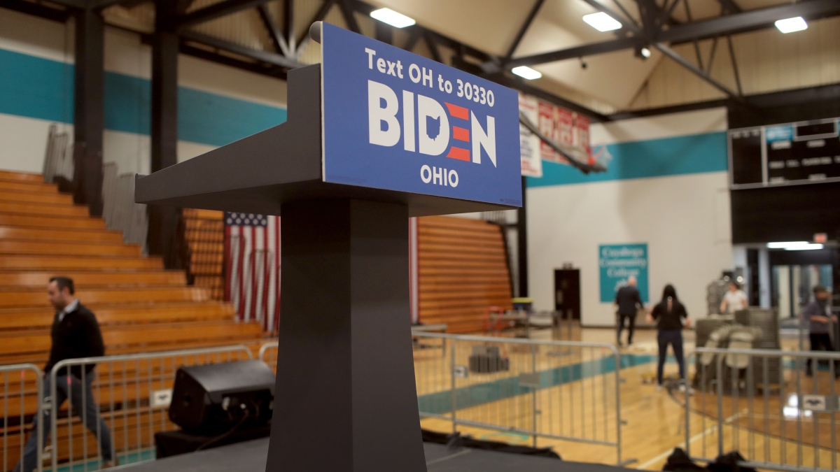 2020 Ohio Democratic Primary Odds: Biden Strong Favorite to Win Important Swing State article feature image