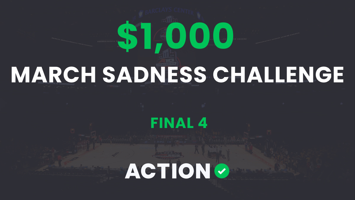 The $1,000 March Sadness Bracket Challenge: Final 4 Results article feature image