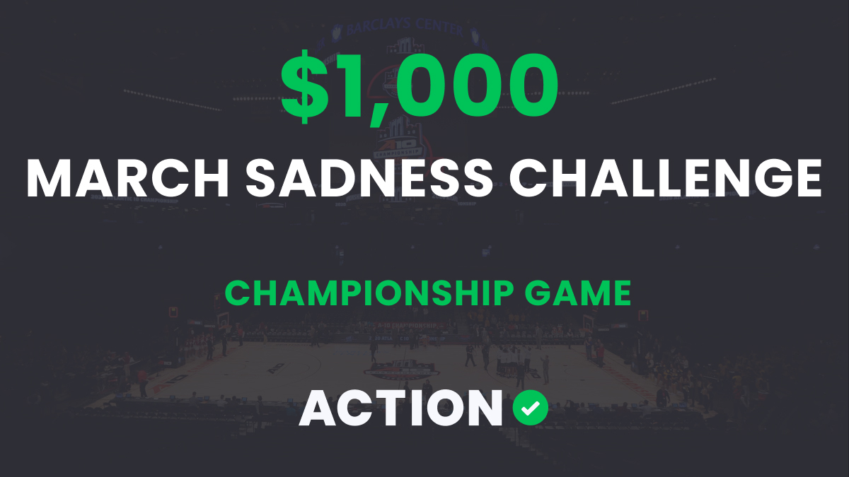 The $1,000 March Sadness Bracket Challenge: Championship Game Results article feature image