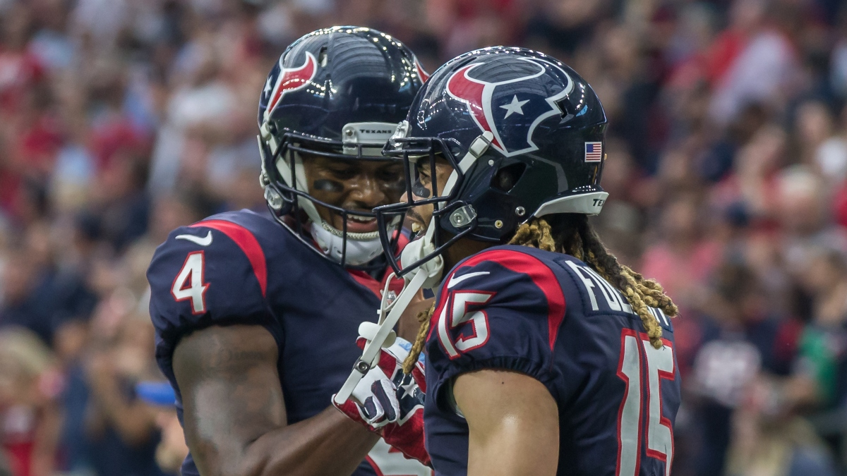 What the DeAndre Hopkins Trade Means for Deshaun Watson & Texans WRs In Fantasy Football article feature image
