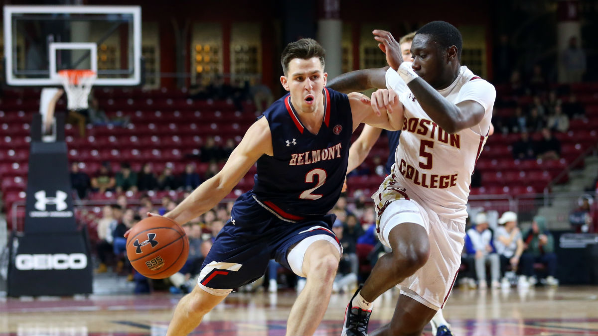 Friday College Basketball Odds & Picks: How I'm Betting Eastern Kentucky vs. Belmont and Hampton vs. Radford article feature image