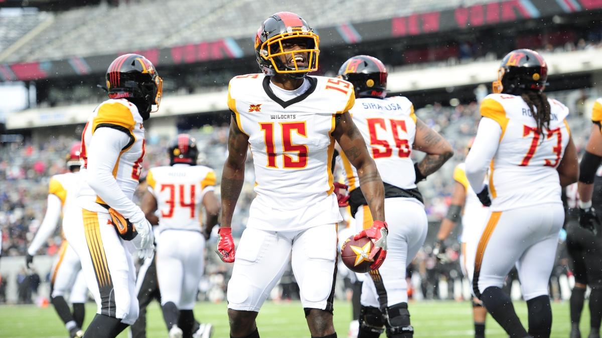 Tampa Bay Vipers vs. Los Angeles Wildcats XFL Betting Odds, Pick & Analysis: Tre McBride Will Dominate Again article feature image