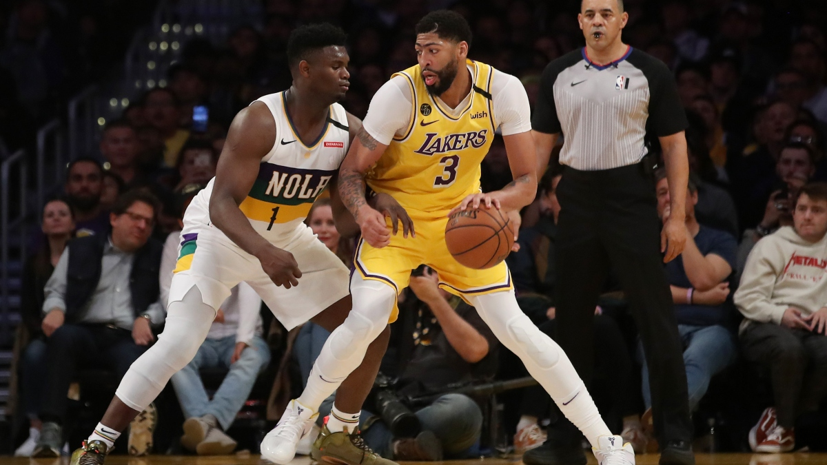 Lakers vs. Pelicans Betting Odds Picks & Predictions: How Will LeBron and L.A. Handle Zion and the Pelicans? article feature image