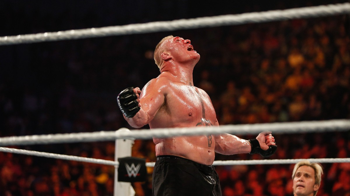 Wrestlemania 36 Odds: Drew McIntyre Favored Over Brock Lesnar for WWE Championship article feature image
