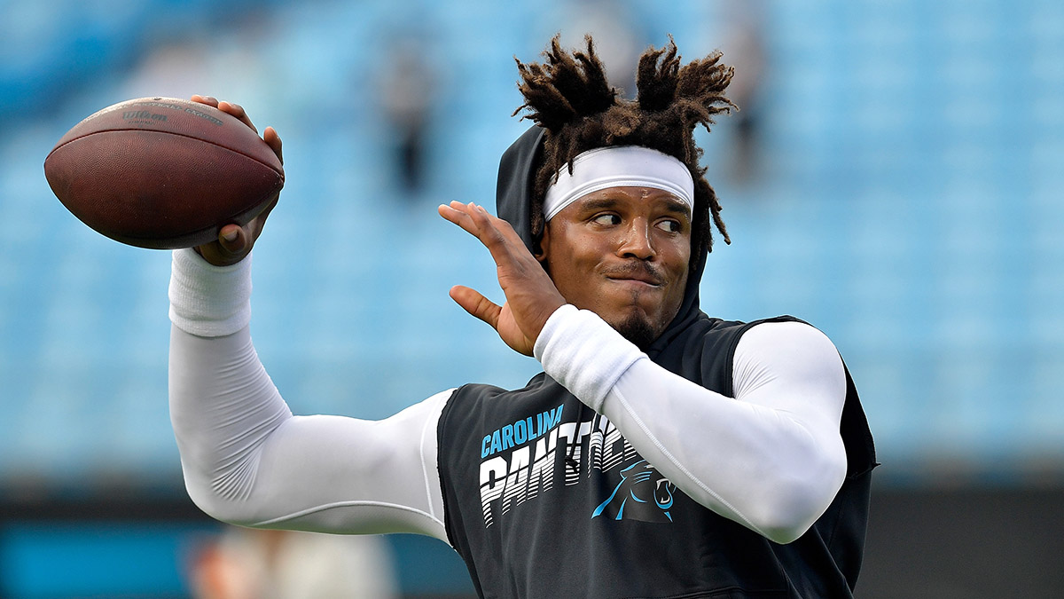 Updated Cam Newton Next Team Odds: Chargers Heavy Favorites to Land Former MVP Quarterback article feature image