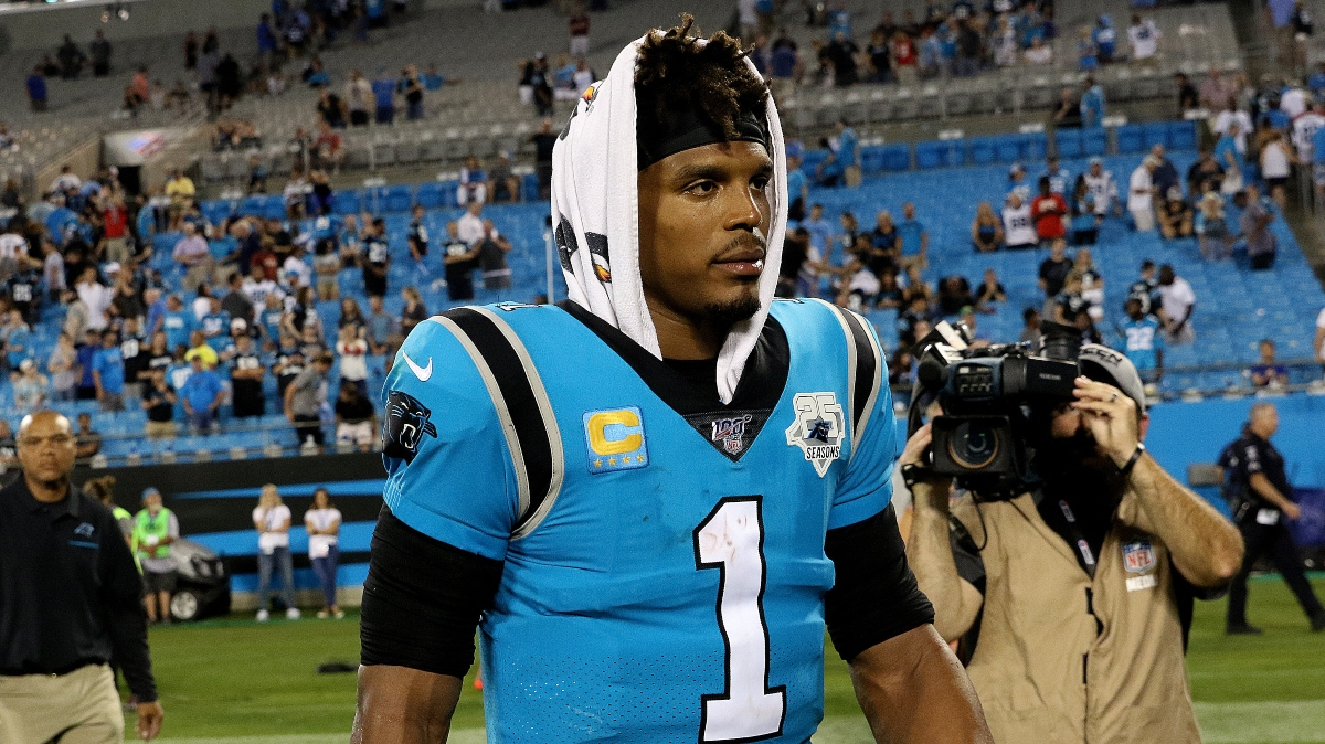 Cam Newton Next Team: Patriots & Bears Among Best Fits for Former Panthers Quarterback article feature image