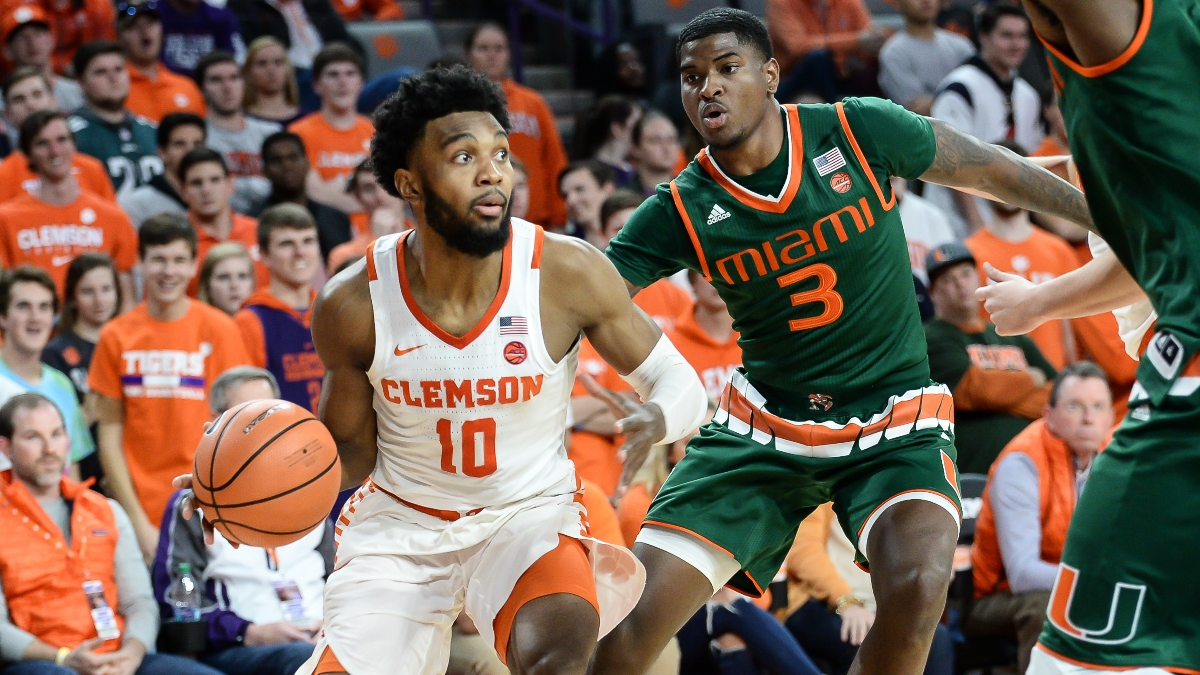Clemson vs. Miami Odds, Sharp Betting Pick: Pros Bet Total in 2020 ACC Tournament article feature image