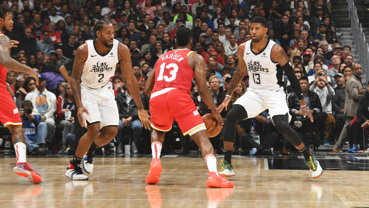 Clippers vs. Rockets Betting Odds Picks & Predictions: Will Small-Ball Work Against Kawhi & Co.? article feature image