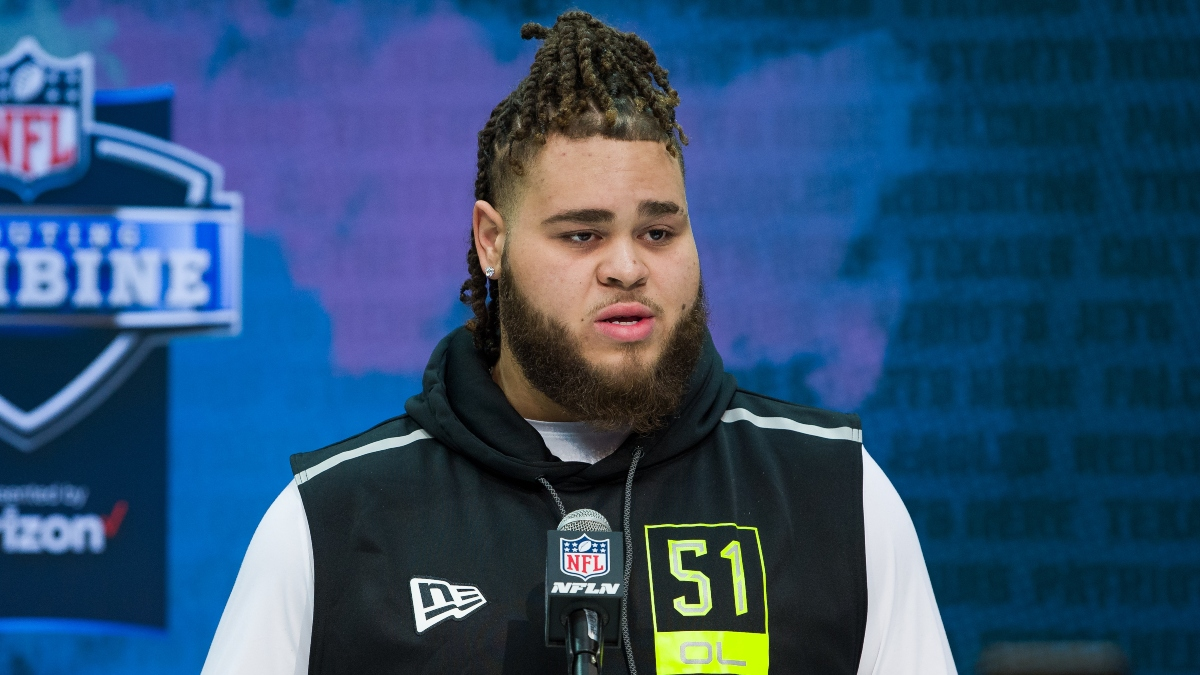 2020 NFL Draft Odds & Prop Picks: Who Will the New York Giants Select in Round 1? article feature image