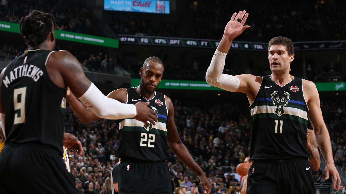 Bucks vs. Nuggets Betting Odds Picks & Predictions: Will Shorthanded Milwaukee Compete Without Giannis Antetokounmpo? article feature image