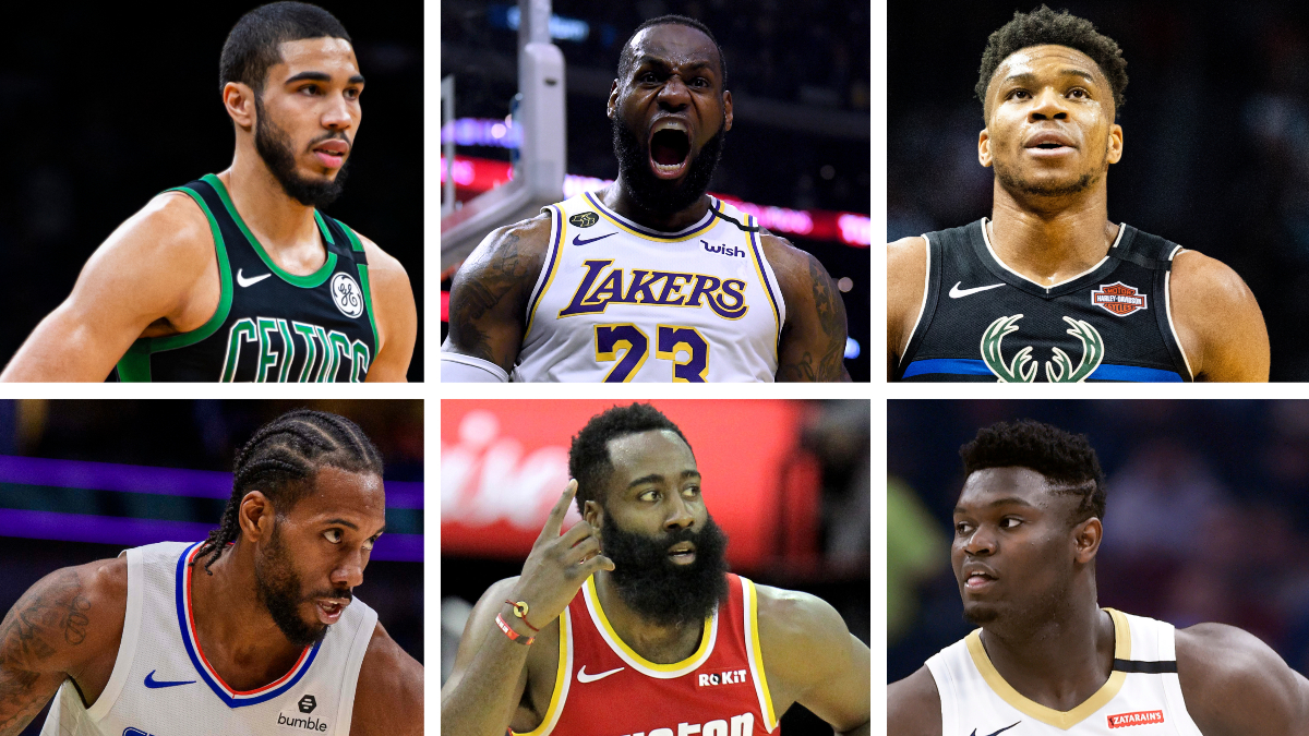 NBA 1-on-1 Tournament Rankings: Our Top Individual Players Ranked 1-64 article feature image