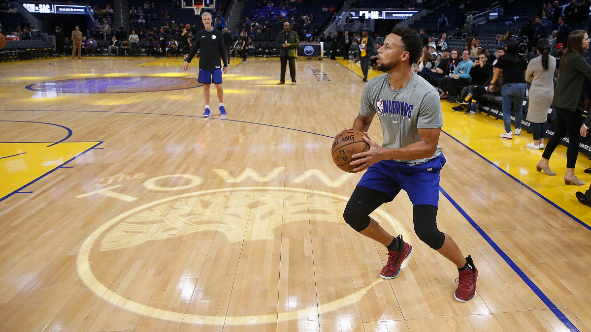 Raptors vs. Warriors Picks, Betting Odds & Predictions: Steph Curry Is Back, Folks article feature image