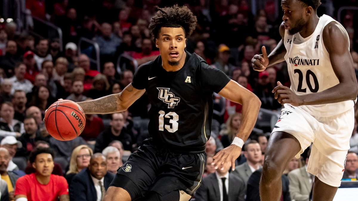 AAC Tournament Betting Odds and Picks (Thursday, March 12): South Florida vs. Central Florida, UConn vs. Tulane, More article feature image