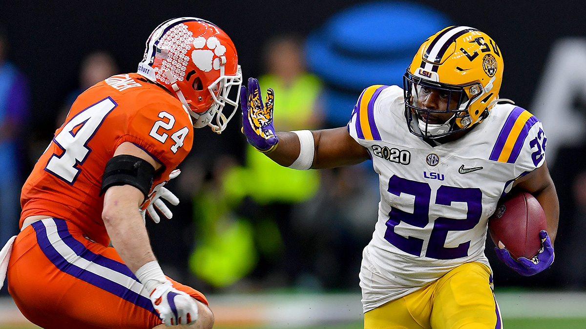 2020 Fantasy Football Rankings Nfl Draft Fits Clyde Edwards Helaire Fantasy Stock Soars The Action Network