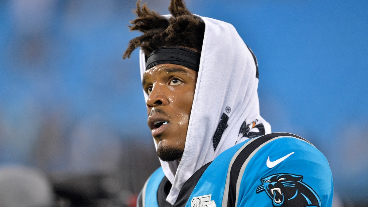 Updated Cam Newton Next Team Betting Odds: Patriots, Jaguars Favored to Land Former Panthers Quarterback article feature image
