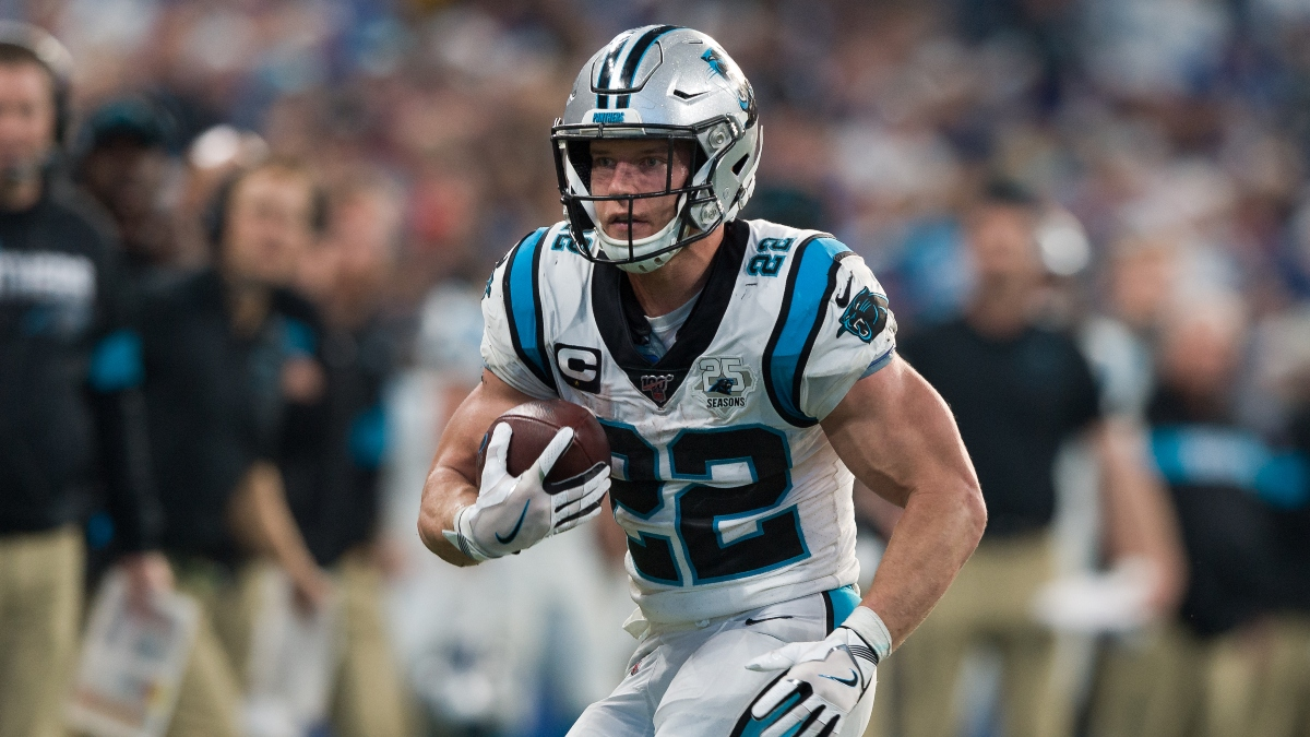 Christian McCaffrey's 2020 Projections & Fantasy Ranking: CMC Poised for Huge Season After Contract Extension article feature image