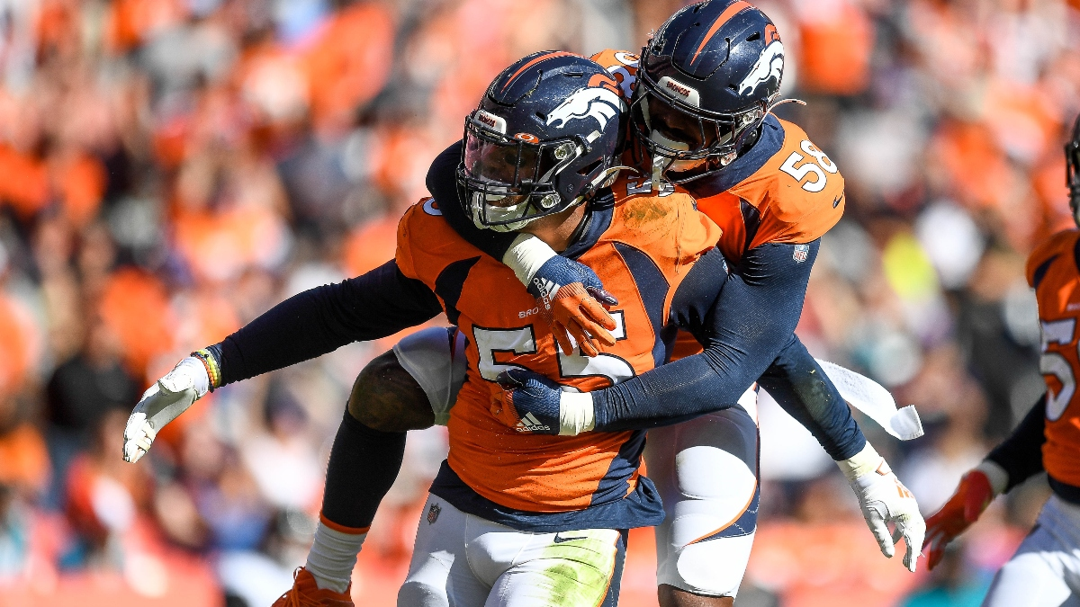 Denver Broncos NFL Defensive Player of the Year Odds: How to Bet on Von Miller & Bradley Chubb article feature image