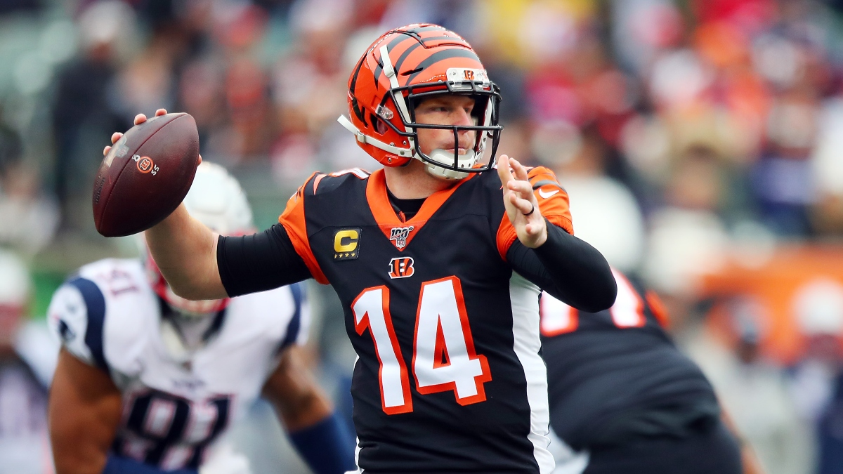 Updated Andy Dalton Next Team Odds: Patriots Favored to Land Bengals Quarterback article feature image