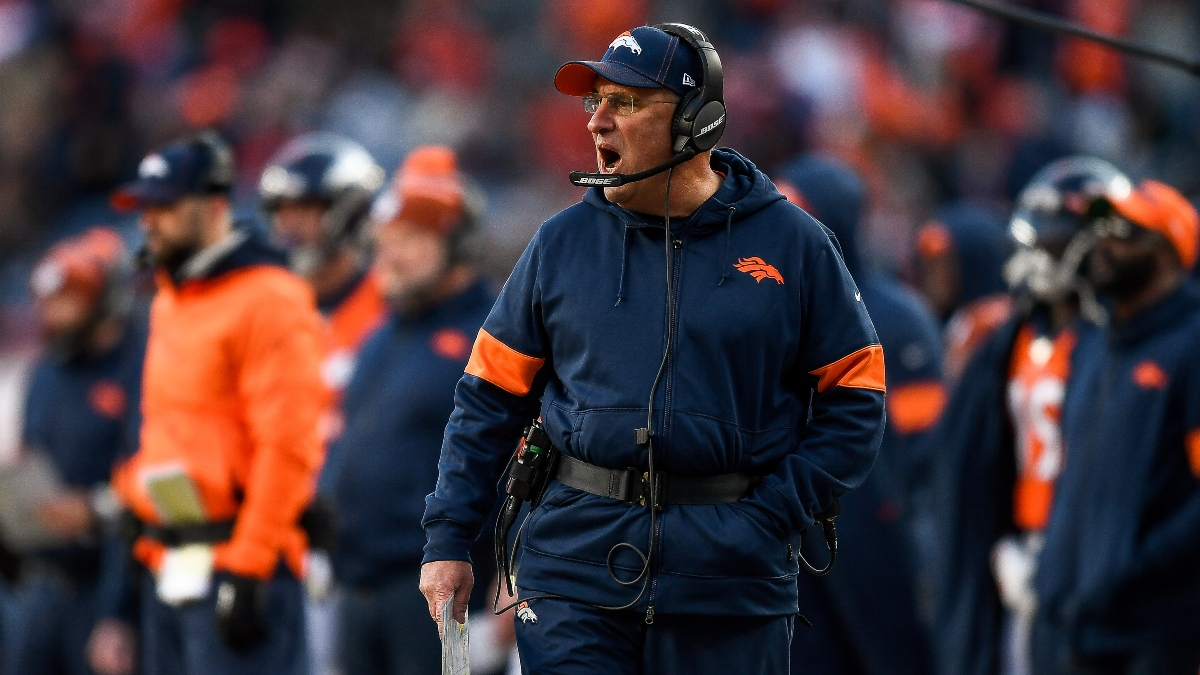 Denver Broncos' Vic Fangio 2020 NFL Coach of the Year Award Betting Odds article feature image