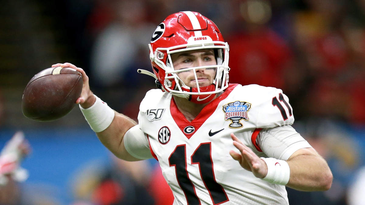 Jake Fromm NFL Draft Odds: Next QB Picked, Draft Position, More article feature image