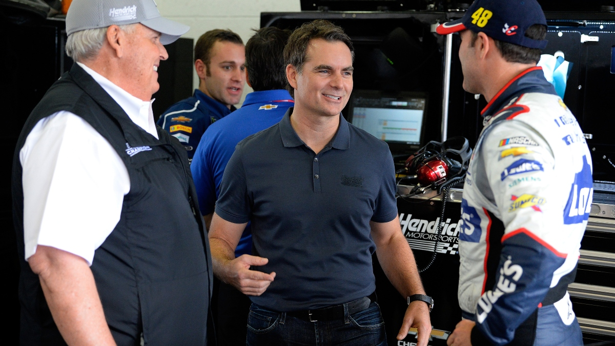 Updated NASCAR iRacing at Talladega Odds: William Byron Favored, Plus Jeff Gordon's Odds in Retirement Return article feature image