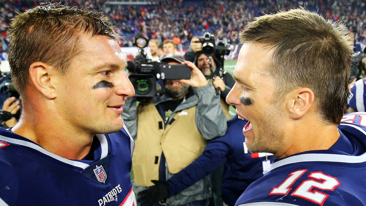 How Rob Gronkowski Reuniting with Tom Brady Shifts Buccaneers Projections & Fantasy Rankings article feature image